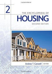 Read PDF The Encyclopedia of Housing, Second Edition -  For Ipad - By