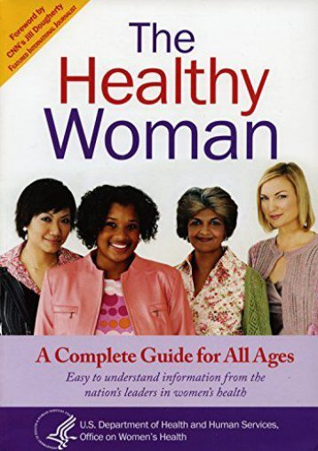 [Free] Donwload Healthy Woman: A Complete Guide for All Ages -  Best book - By