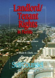 Unlimited Ebook Landlord/Tenant Rights in Florida: What You Need to Know (Self-Counsel Legal) -  Best book - By William D. Clark