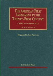 Read PDF Van Alstyne s the American First Amendment in the Twenty-First Century, Cases and Materials, 4th (University Casebook) -  Best book - By William W Van Alstyne