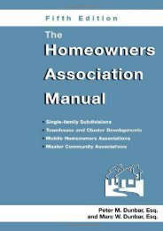 [Free] Donwload The Homeowners Association Manual -  Best book - By Marc W Dunbar