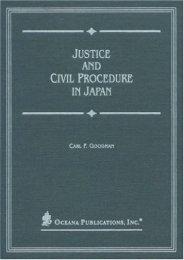 Best PDF Justice and Civil Procedure in Japan -  Best book - By Carl Goodman