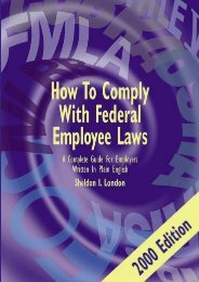Unlimited Ebook How to Comply With Federal Employee Laws: A Complete Guide for Employers Written in Plain English -  For Ipad - By Sheldon I. London