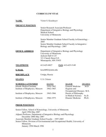 Resumes And CVs Graduate School Carpinteria Rural Friedrich Resume Examples Biology  Biology Resume Objective Examples Cover  Biology Resume