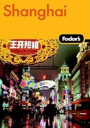 Fodor s Shanghai, 2nd Edition (Travel Guide)