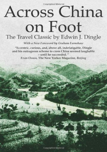 Across China on Foot (Tales of Old China)