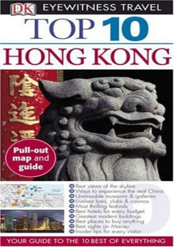 Top 10 Hong Kong (Eyewitness Top 10 Travel Guides)