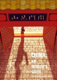China, an Insider s Guide
