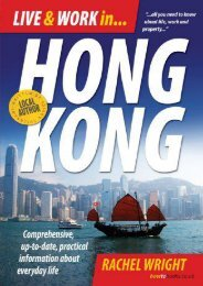 Live and Work in Hong Kong: Comprehensive, Up-to-date, Practical Information About Everday Life