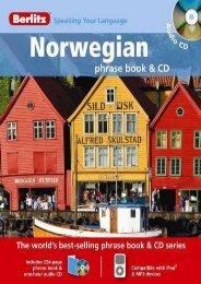 Berlitz Norwegian Phrase Book   CD
