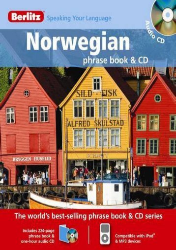 Berlitz Norwegian Phrase Book   CD