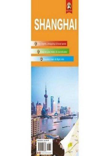 Shanghai Travel Map (Panda Guides)