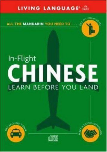 In-Flight Chinese: Learn Before You Land