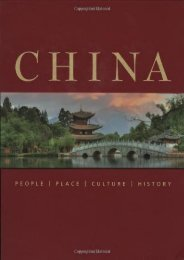 China: People Place Culture History