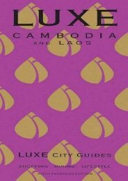LUXE Cambodia   Laos (LUXE City Guides)