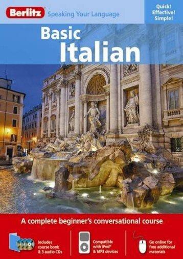 Berlitz Basic Italian (Italian Edition)