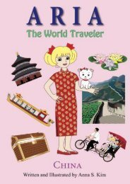 Aria the World Traveler:  China: fun and educational children s picture book for age 4-10 years old