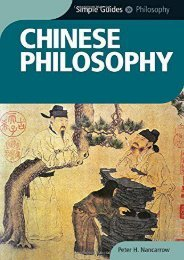Chinese Philosophy - Simple Guides: The Essential Guide to Customs   Culture
