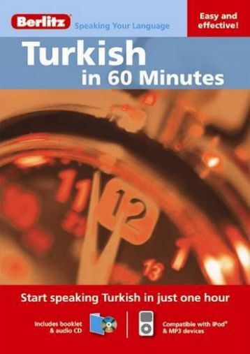 Berlitz Turkish in 60 Minutes (Berlitz in 60 Minutes)
