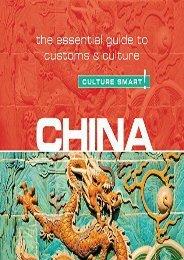 China - Culture Smart!: The Essential Guide to Customs   Culture