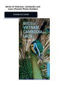 Birds of Vietnam, Cambodia and Laos (Pocket Photo Guides) - Page 2