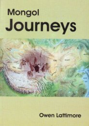 Mongol Journeys
