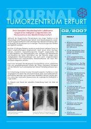 journal - Tumorzentrum Erfurt eV
