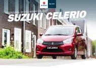 Suzuki Celerio modelbrochure