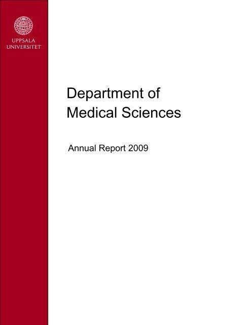 Department Of Medical Sciences Medicin Och Farmaci
