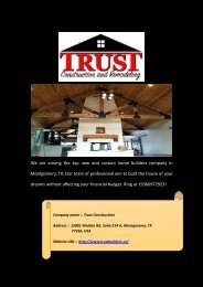 Top Home Remodeling Services in Montgomery