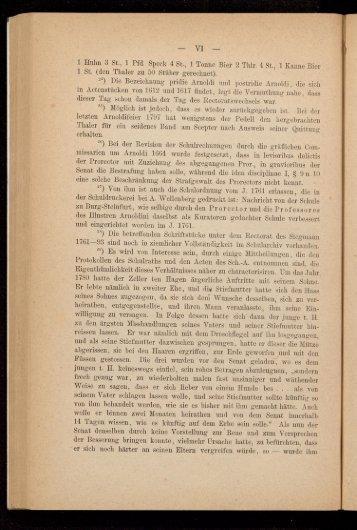 Heuermann - Anmerkungen VI-VIII