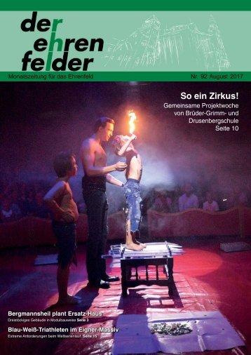 Der Ehrenfelder 92 - August 2017