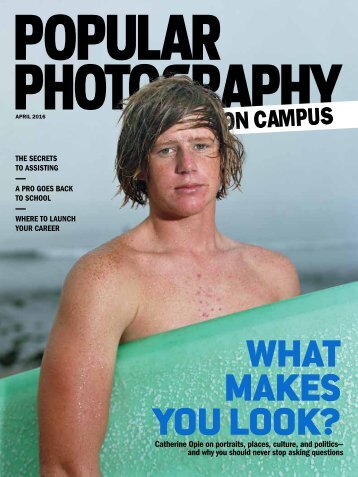 Popular Photography on Campus April 2016