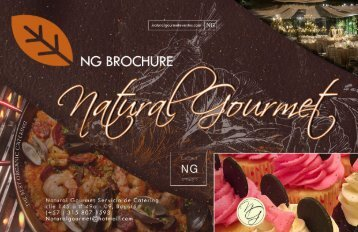 Natural Gourmet Brochure