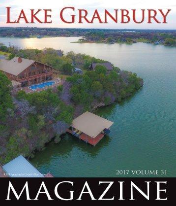 Lake Granbury Magazine - Summer 2017