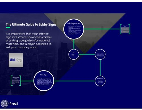 The Ultimate Guide to Lobby Signs in Chicago For Harboring a Successful Business