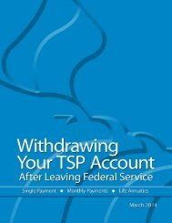 Withdrawing Your TSP Account - tspbk02