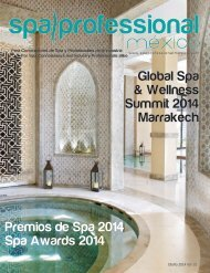 Spa & Wellness MexiCaribe 15, Otoño 2014