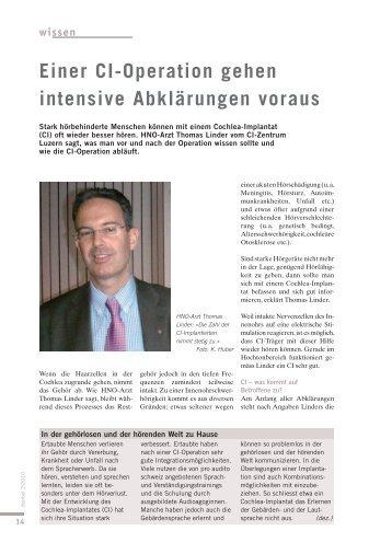 wissen - Pro Audito Schweiz