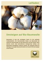 Leitfaden Umsteigen auf Bio-Baumwolle - trend4nature