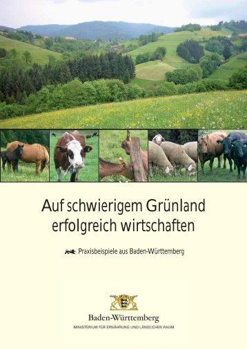 Auf schwierigem Grünland erfolgreich wirtschaften - Ministerium für ...