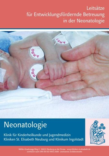 Neonatologie - Kliniken St. Elisabeth