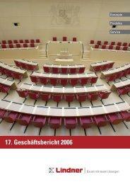 17. Geschäftsbericht 2006 - Lindner Group