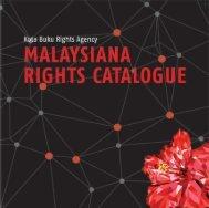 MALAYSIANA RIGHTS CATALOGUE 2017