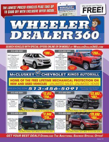 Wheeler Dealer Issue 33, 2017