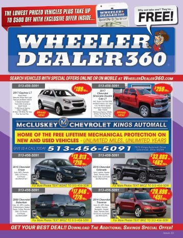 Wheeler Dealer Issue 33, 2017