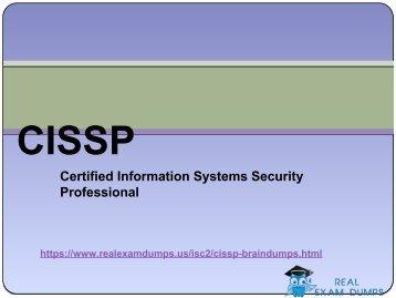 Get Valid ISC2 All CISSP Exam Dumps - Prepare ISC2 Exam In 24 Hours