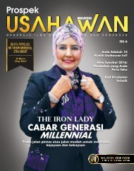 Prospek Usahawan Malaysia Isu 6