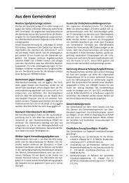 Gemeinde Information 3/2012 - Herzlich willkommen