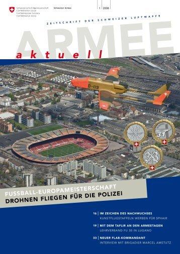 ARMEE aktuell 1/08 - Schweizer Luftwaffe - admin.ch